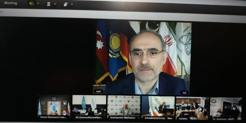 Webinar meeting of the members the Association of the State Universities of the Caspian Region Countries (ASUCRC)