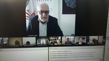 Webinar meeting of the members the Association of the State Universities of the Caspian Region Countries (ASUCRC)-6 july 2020
